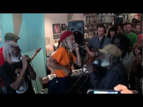The Congos Live @ Northside Records: 'Garden of Life' (HD)