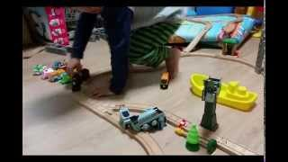 토마스와 친구들 기차놀이(원목)
