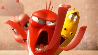 LARVA - DANCE OFF | Cartoon Movie | Cartoons For Children | Larva Cartoon | LARVA Official