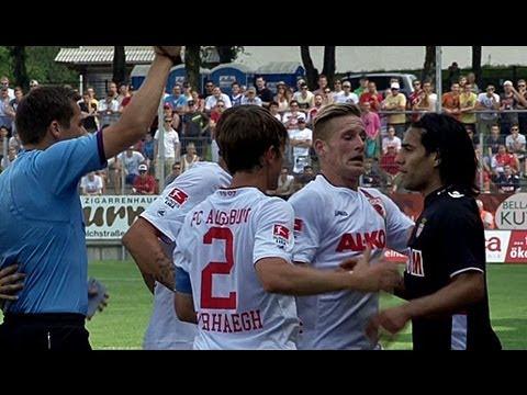 Radamel Falcao tickt aus! FC Augsburg schlägt Millionentruppe vom AS Monaco