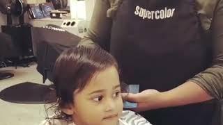 Time for a haircut   Alayna   Shakib Al Hasan