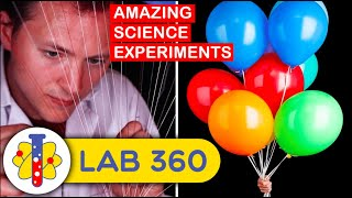 Let's Take a Break From Science Experiments Today and Do Something Fun With Helium Balloons