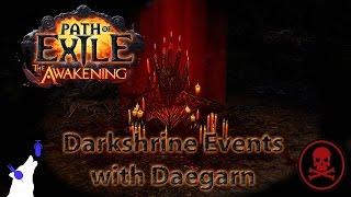 Path Of Exile - Darkshrine events