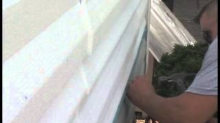 Step 4 of 9: How to Install 1st Course of Vinyl Siding Over FullbackV Insulation