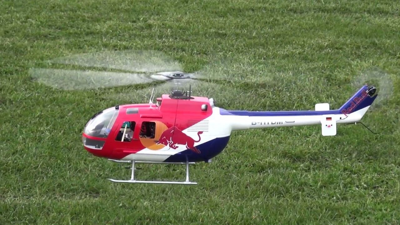 BO 105 RC Helicopter 450 size with scale Fuselage