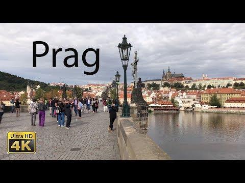 Rundgang durch die Altstadt von Prag in 4K
