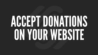 Squarespace Tutorial: Accept Donations on Your Website