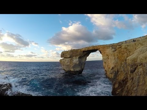 The Azure Window (Before It Collapsed) & The Citadel | One Day On Gozo Island, Malta