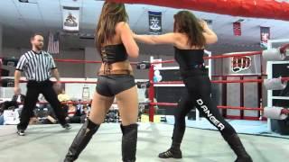 Allison Danger vs Allie Parker Women's Match November 10th 2012 Adrenaline Unleashed