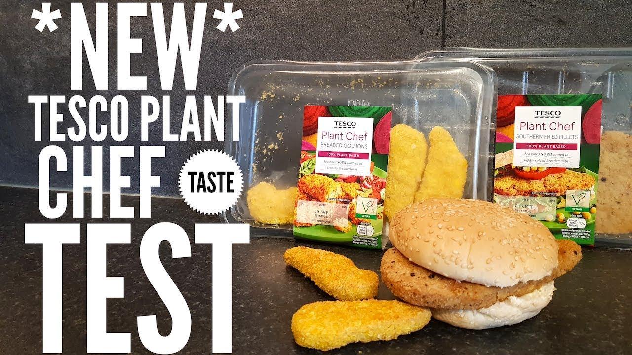 New Tesco Plant Chef Taste Test