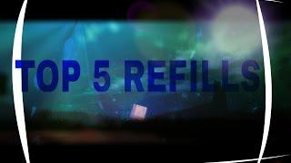 TOP 5 REFILLS #1 ► Norisk, Intence, xImLegend, CirexPvP, Obitou | MystiMind