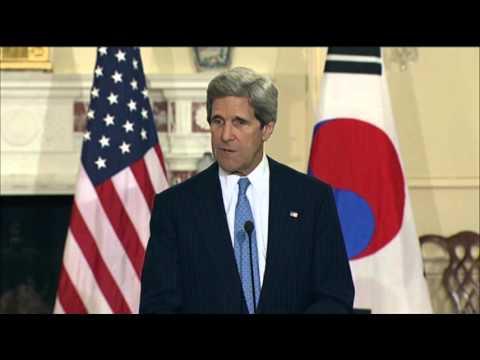 Kerry: North Korea's Rhetoric Is 'Unacceptable'