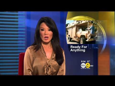 Sharon Tay 2012/11/07 KCAL9 HD