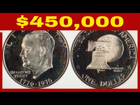 THE SINGLE RAREST 1976 EISENHOWER DOLLAR WORTH BIG MONEY!! RARE IKE DOLLARS TO LOOK FOR!