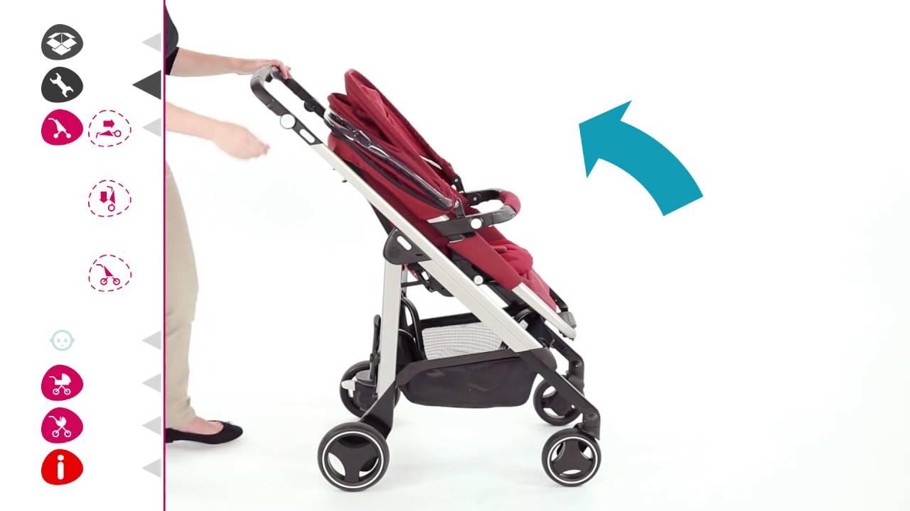 poussette loola 3 de bebe confort installation