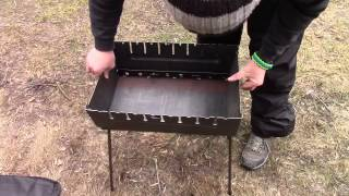 Обзор мангала на 10 шампуров. Тест метала пройден.(, 2015-03-02T16:33:54.000Z)