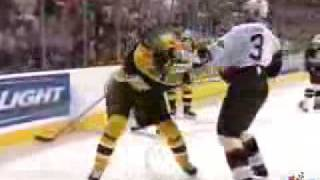 Zdeno Chara vs. Hal Gill Fight