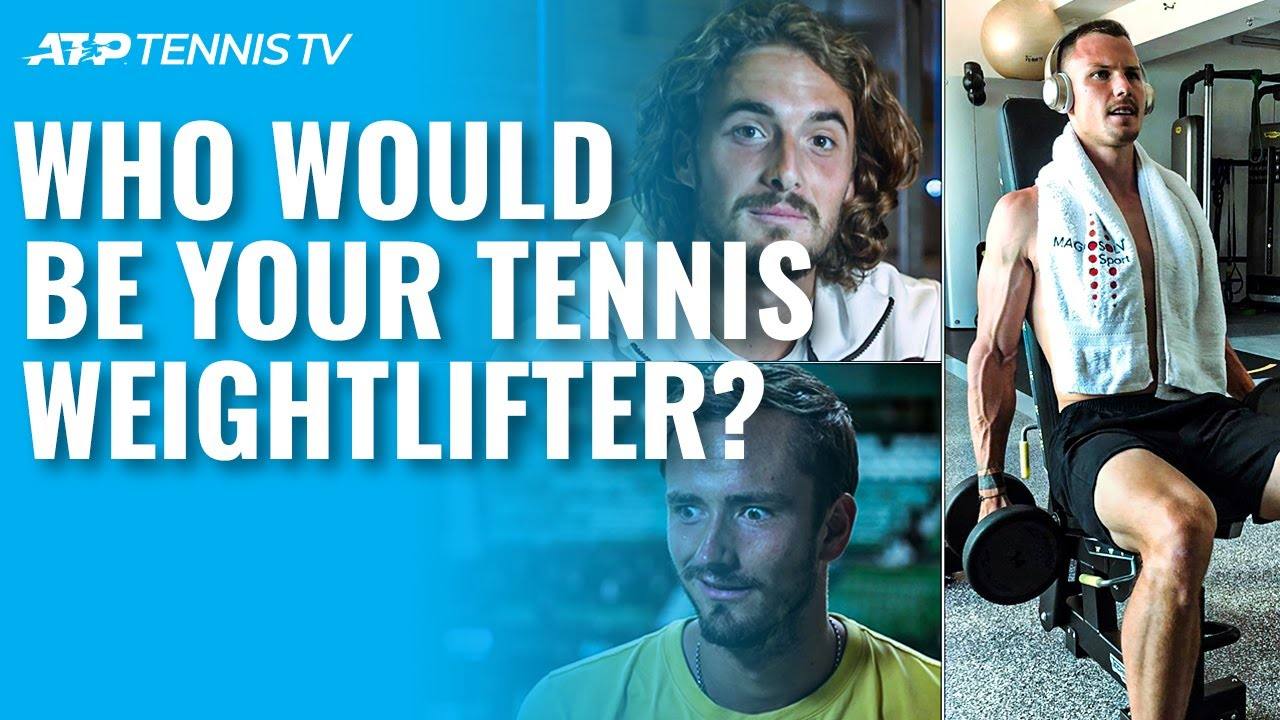 Who Would Compete in Weightlifting? 🏋🏻♀️ ATP Tennis Meets The Olympics