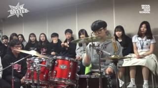 [Drum Battle 2] 너희들 1학년 맞아?   드럼전쟁 시즌2 1라운드④