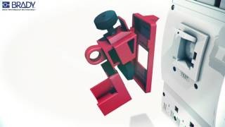 Brady  | Lockout Tagout | Lockout Devices | Clamp On Breaker Lockout Cleats | Demo