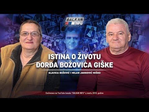 AKTUELNO: Istina o životu Đorđa Božovića Giške - Slavica Božović i Miško Janković (26.3.2019)