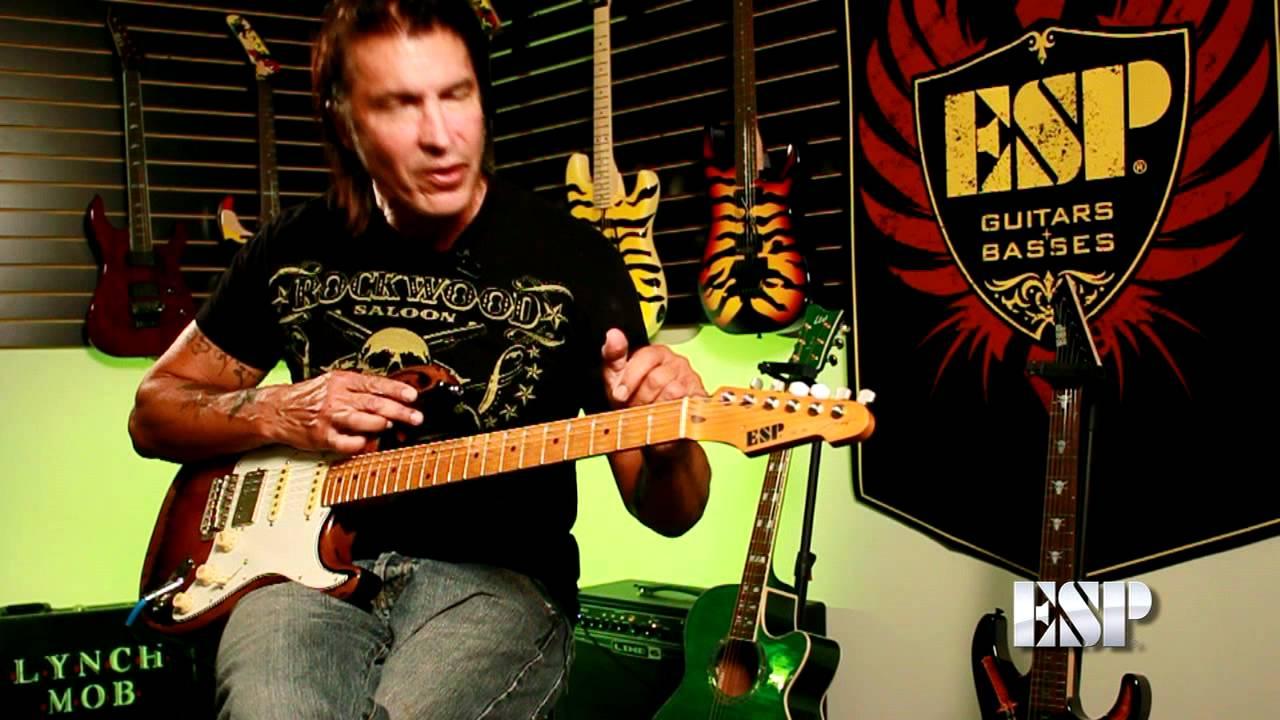 esp guitars george lynch demos the esp gl 56 youtube. Black Bedroom Furniture Sets. Home Design Ideas
