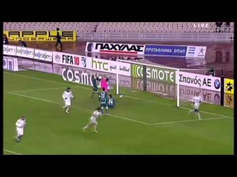 Djibril Cisse ♦ All Goals With Panathinaikos F.C ♦ SLK10