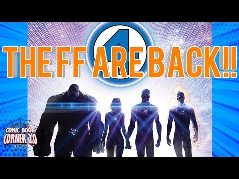 The Fantastic Four make their return in Marvel's Fresh new start!!
