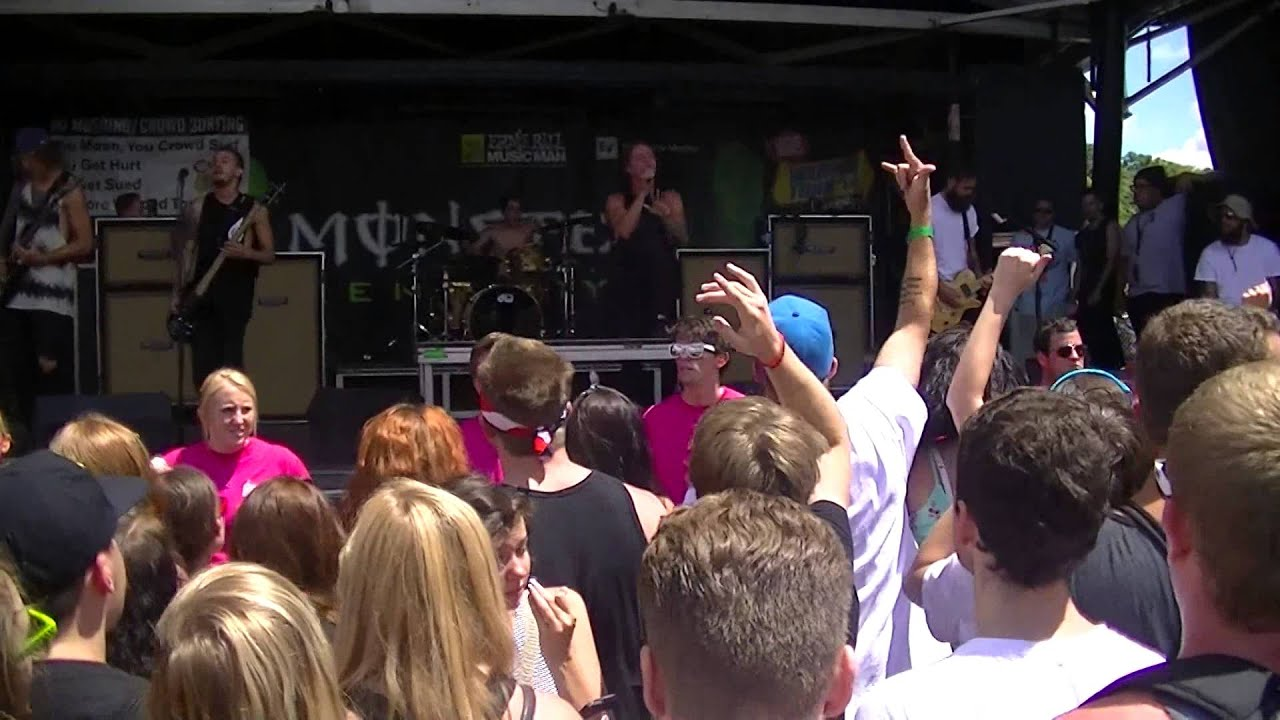 The Word Alive - Glass Castle CIRCLE PIT CAM (Live Warped ...