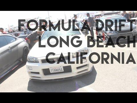 Formula Drift Long Beach California 2017