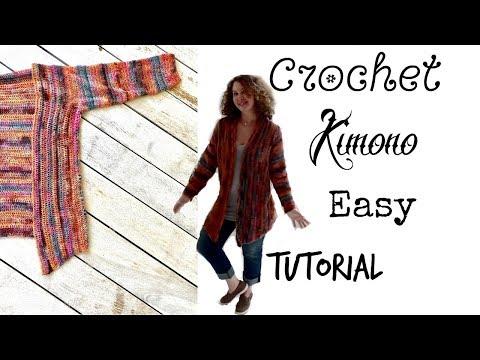 Easy Crochet Kimono/Cardigan