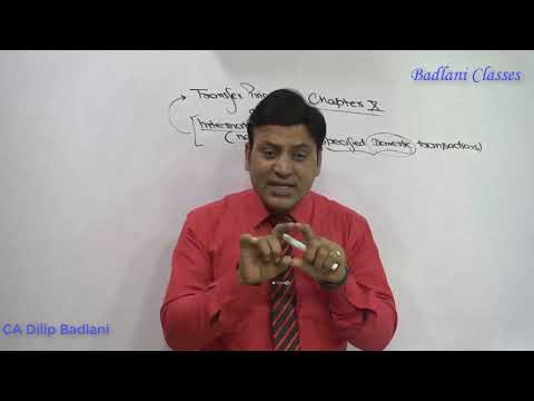 Income Tax : Transfer Pricing : International Taxation : Lecture 1