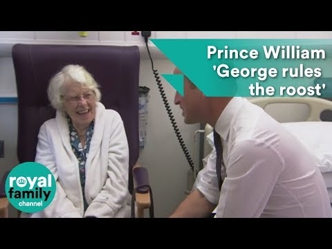 Prince William: George rules the roost