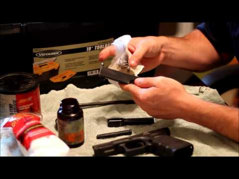 Cleaning and Lubricating Your Pistol