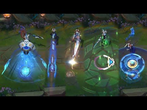 Pulsefire Ekko, Pantheon, Fiora and Lucian (+PRESTIGE!) | PBE Preview Pulsefire 2020