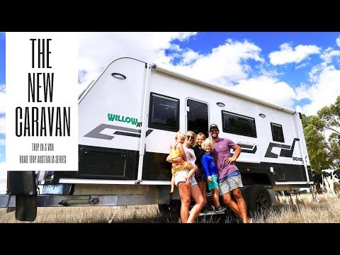 THE NEW CARAVAN - LET'S GIVE YOU A TOUR OF THE  RIG!!