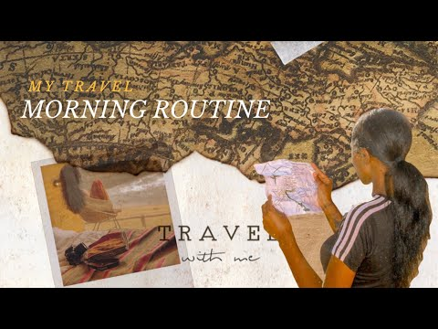 My Travel Morning Routine ✈️ 🌅🇨🇱 | Chile | #MaryjanesWorldTour