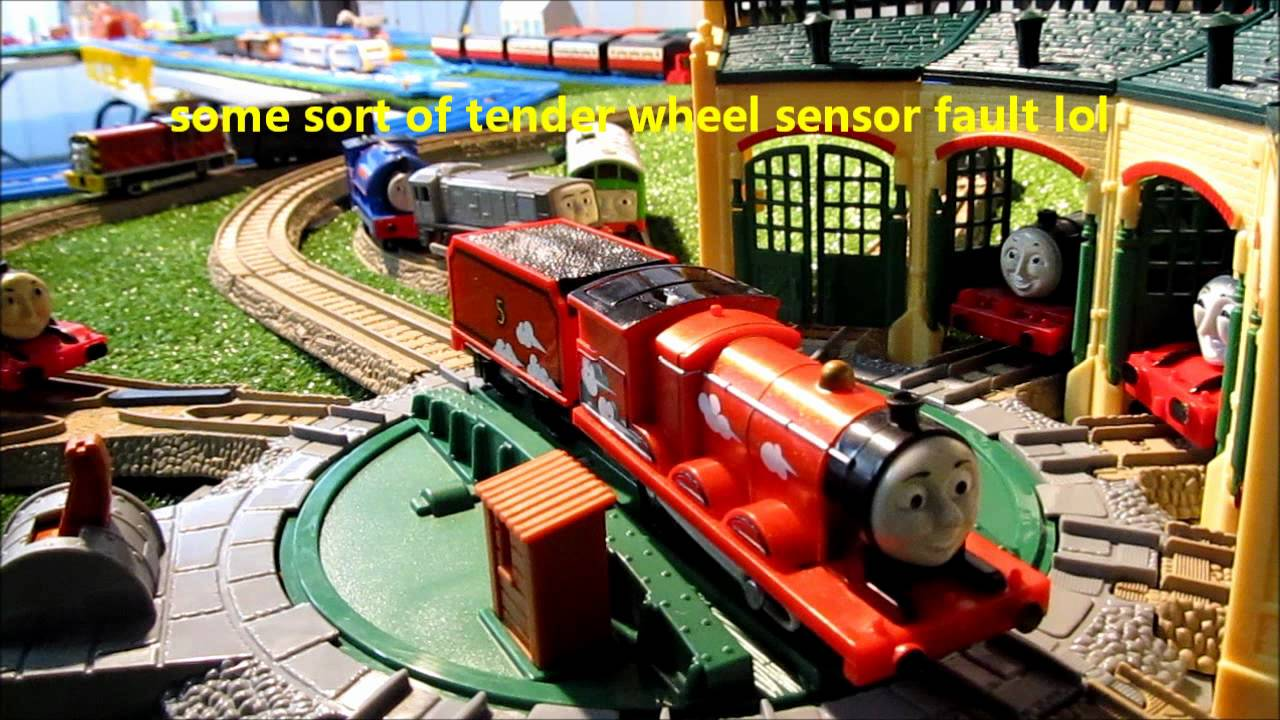 Trackmaster James 3 speed turntable working properly ...