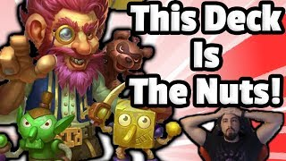 MalyKrond Rogue Is The NUTS - Hearthstone Descent Of Dragons