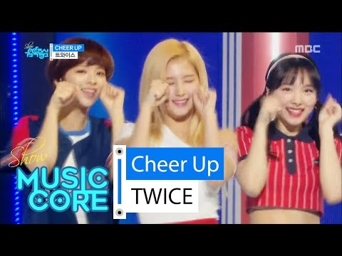 Thumbnail: [Comeback stage] TWICE - CHEER UP, 트와이스 - CHEER UP Show Music core 20160430