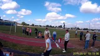 Областные соревнования по горизонтальным прыжкам