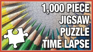 Color My Heart - 1000-pc Puzzle Timelapse