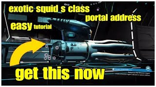 Exotic Squid Fast & Easy Tutorial Get it Now No Man's Sky Next EUCLID