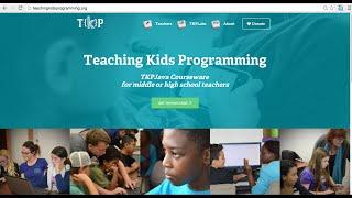 TKPJava for K-12 Teachers