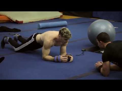 Cirque du Soleil's back and core training