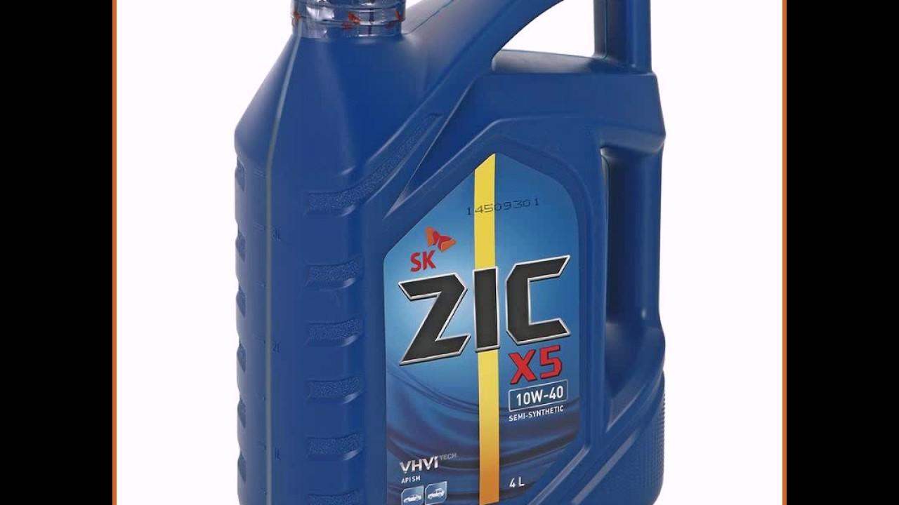 Отзыв: Моторное масло ZIC - YouTube