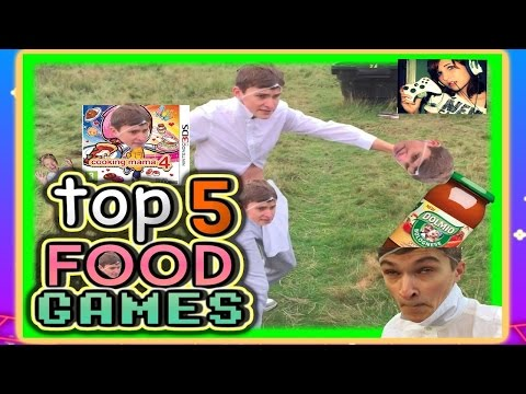 TOP 5 Games That Make Me HUNGRY