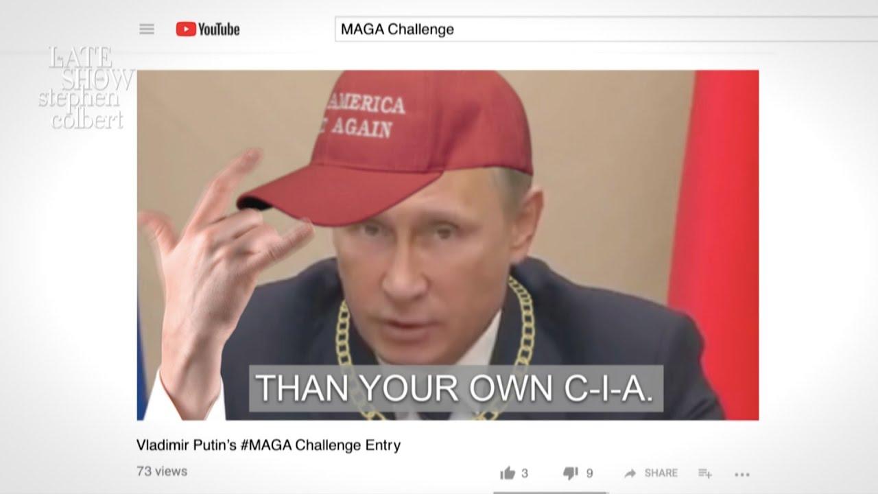 Vladimir Putin Wins The Maga Challenge Youtube