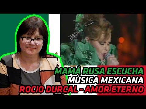 RUSSIANS REACT TO MEXICAN MUSIC   Rocio Durcal - Amor Eterno   REACTION