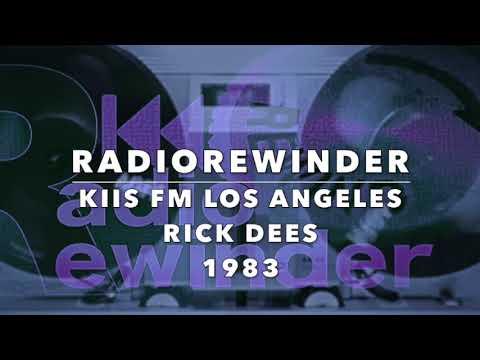 KIIS FM Los Angeles  Rick Dees 1983